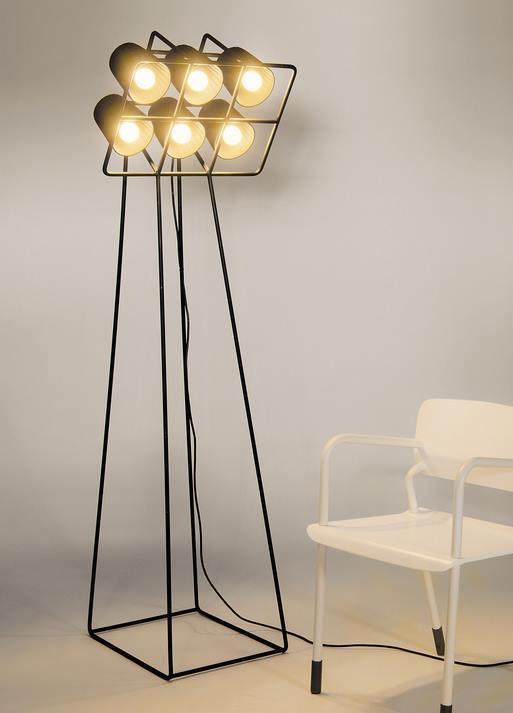 Stehlampe Multilamp