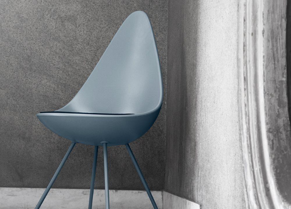 Drop-Stühle von Arne Jacobsen