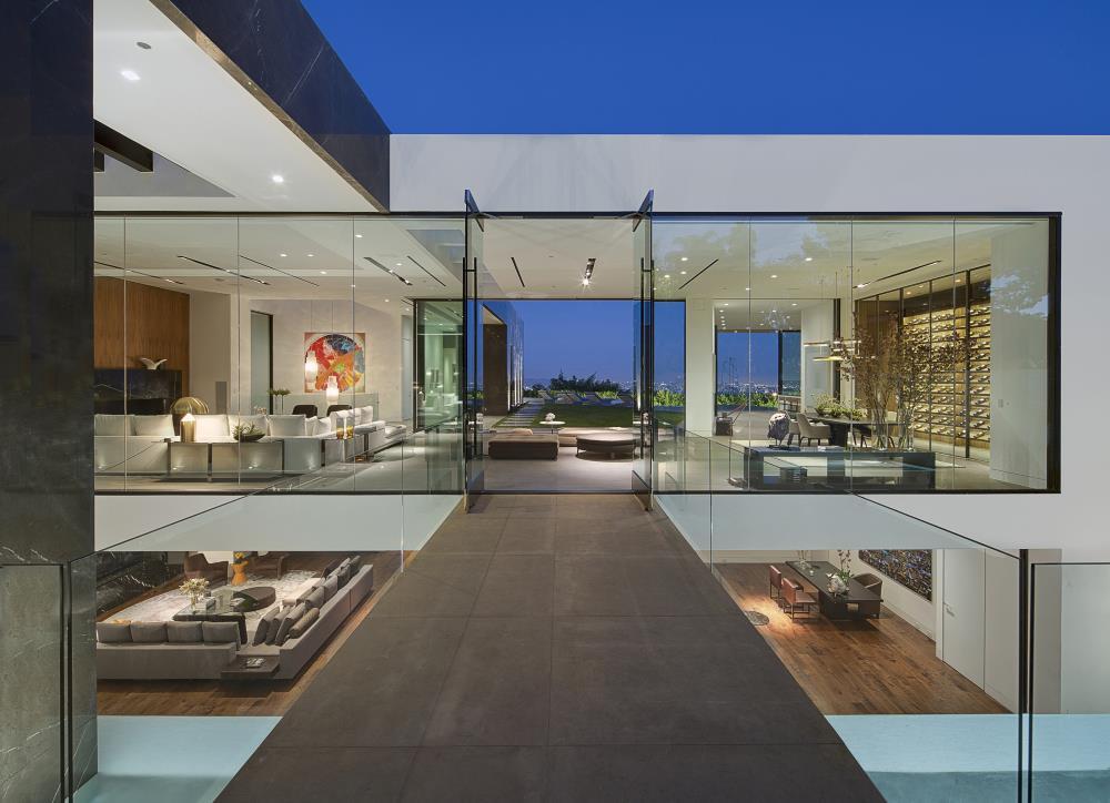 Blick über beide Stockwerke