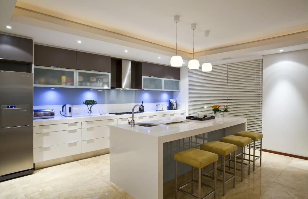 Moderne elegante Küche