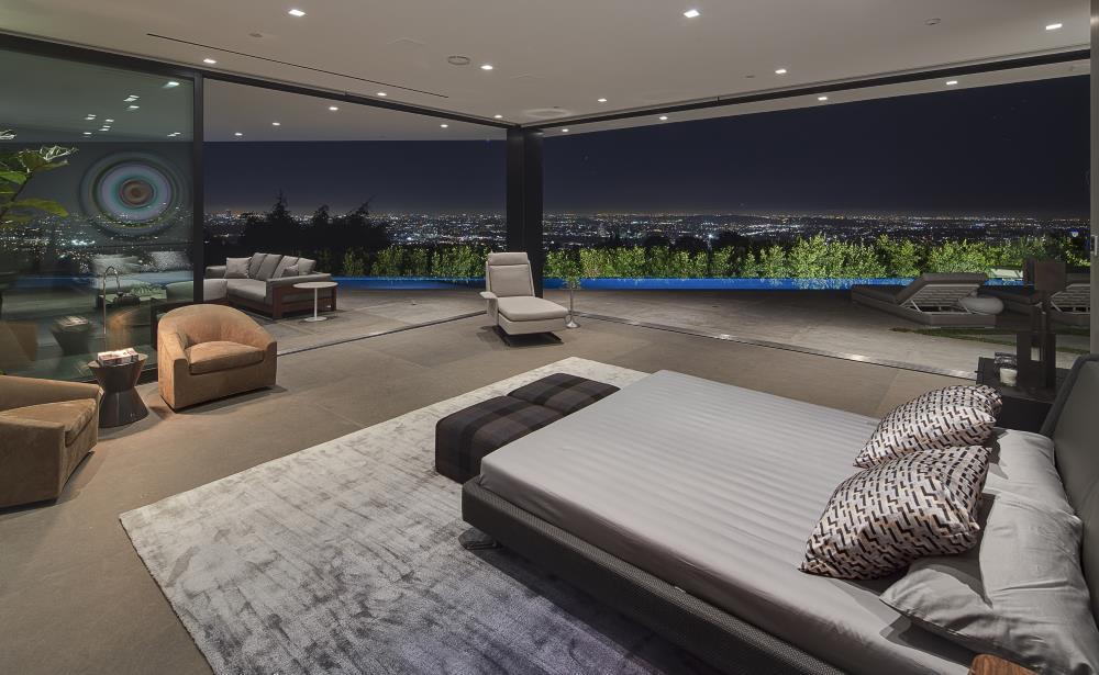 Wohnideen auch vom Schlafzimmer ein herrlicher Blick