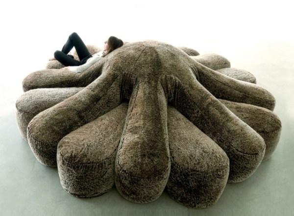 Octopus Couch für große Räume