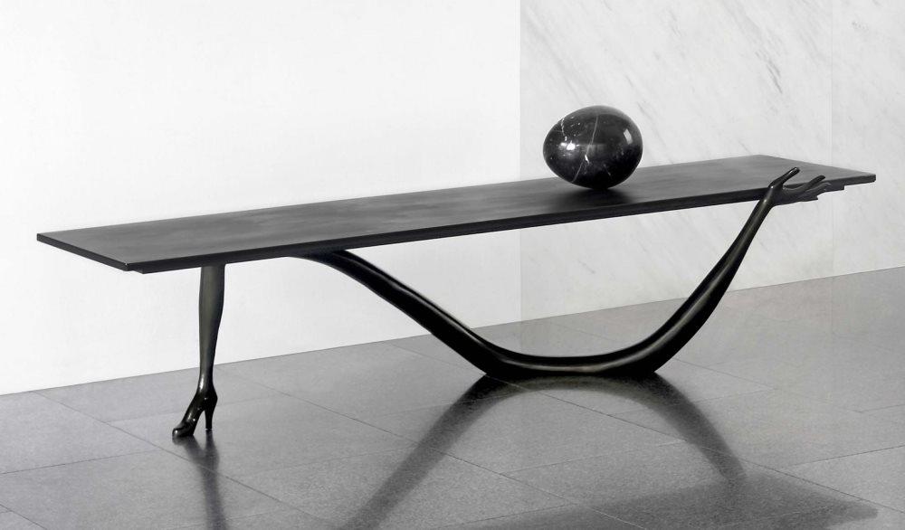 Black Label Leda Couchtisch von Salvador Dali