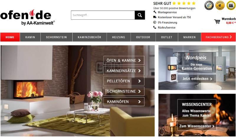 ofen-de der online Shop für Öfen und Kamine