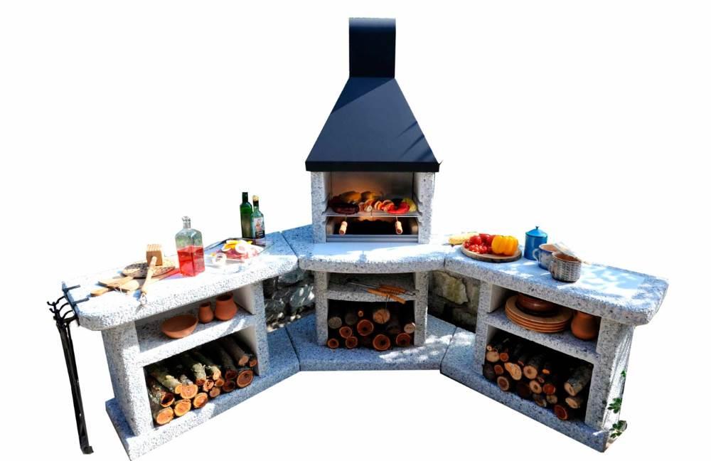 Outdoor Küche Xxl : Grillkamine und gartenküchen design möbel