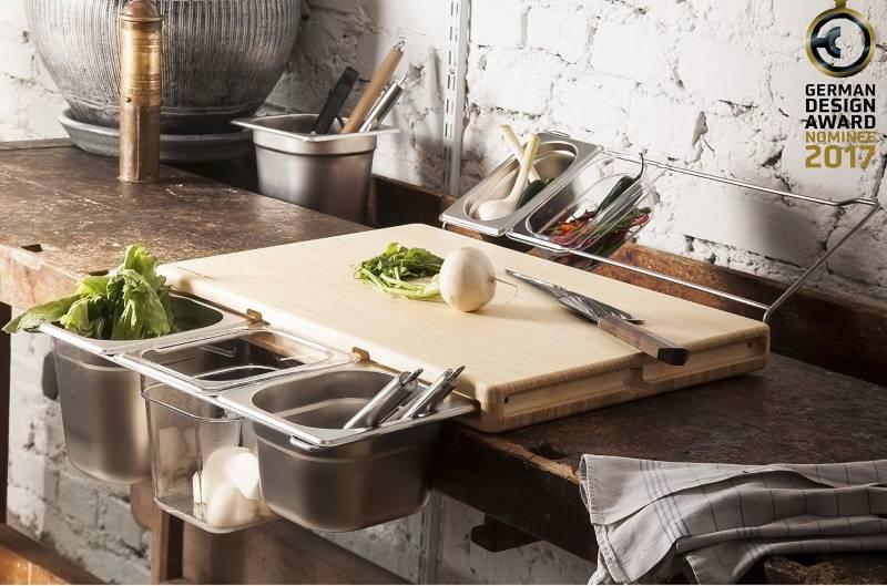 Frankfurter Brett die Werkbank für Küchenprofis