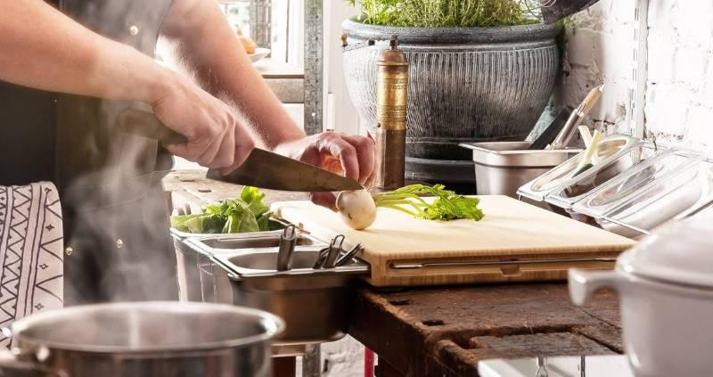 Frankfurter Brett - arbeiten wie die Küchenchefs