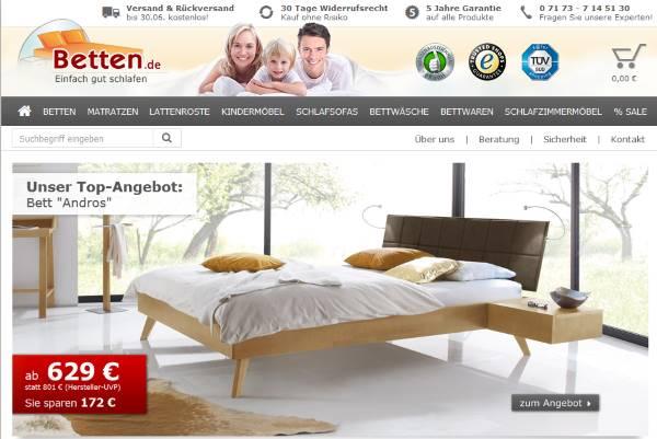 Betten Shop der spezial Shop für Betten, Matratzen und Lattenroste