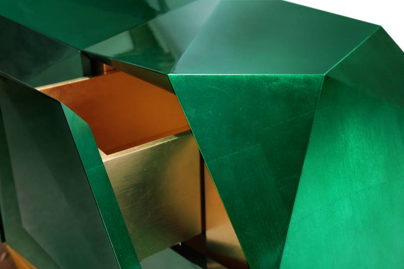 Diamond Emerald Sideboard mit Laden