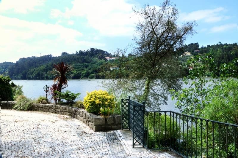 Garten mit Blick auf die Douro