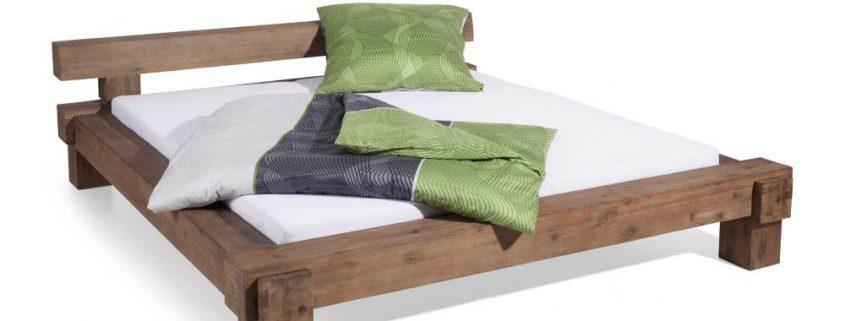 Massivholzbett für einen gesunden Schlaf