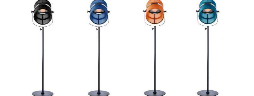 Designer solar Stehlampe
