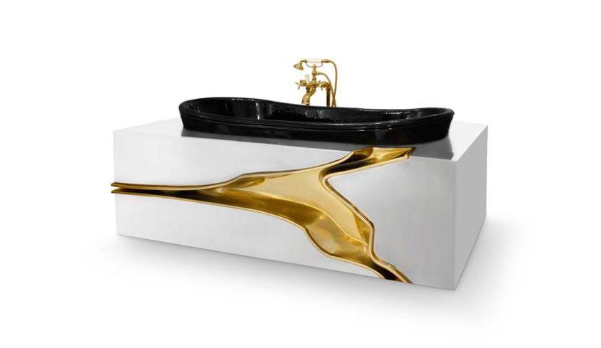 Lapiaz freistehende Badewanne
