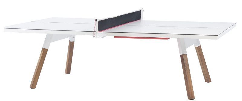 Tischtennistisch als Esstisch weiß