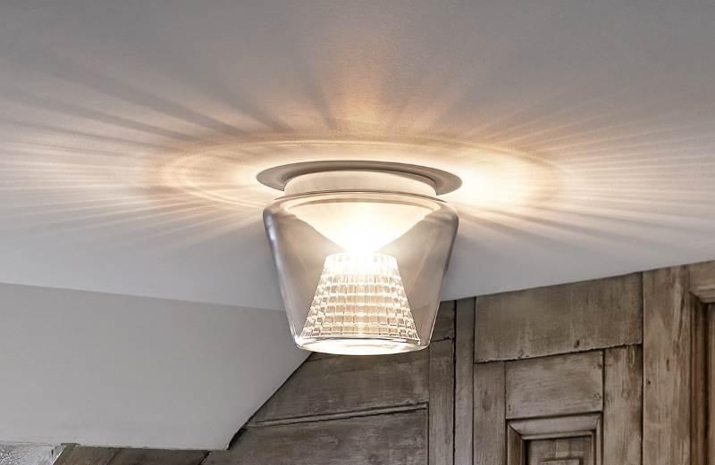 Annex -LED Deckenleuchte mit Kristallreflektor