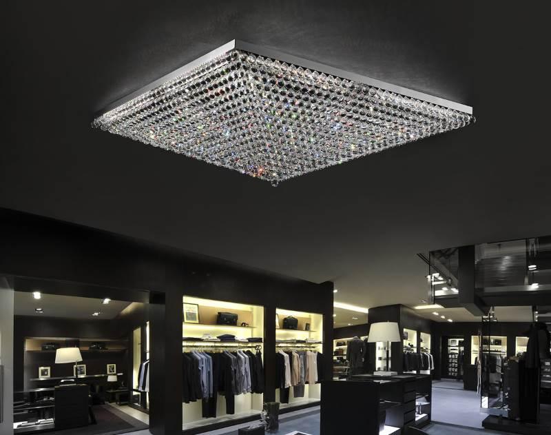 Beeindruckende LED Deckenleuchte Ascana