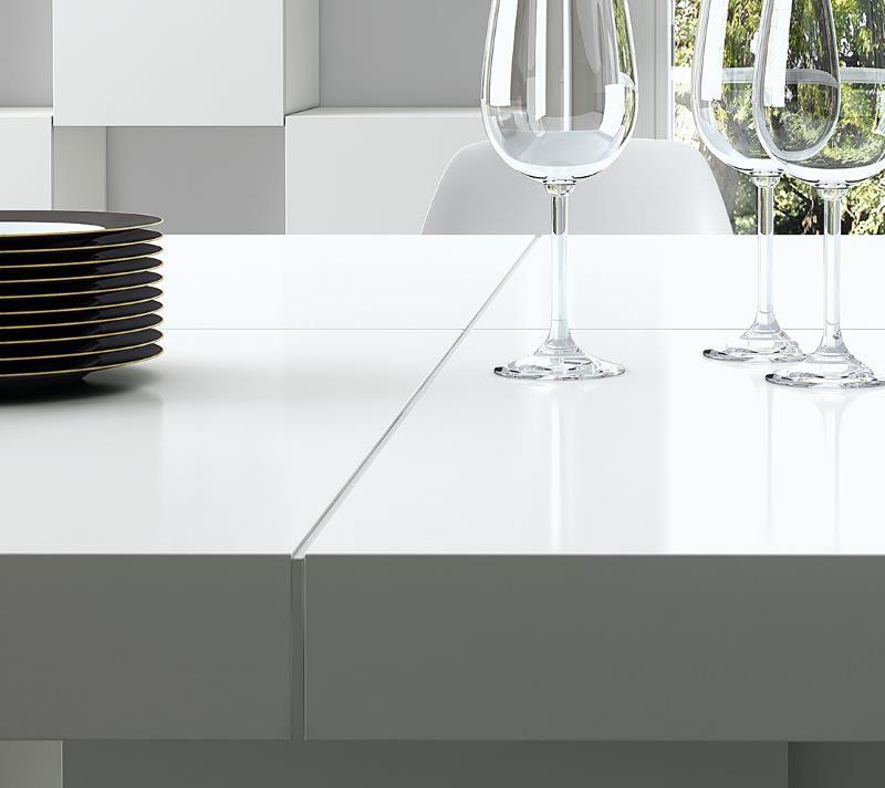 12 x esstisch wei hochglanz von ganz teuer bis ganz g nstig design m bel. Black Bedroom Furniture Sets. Home Design Ideas