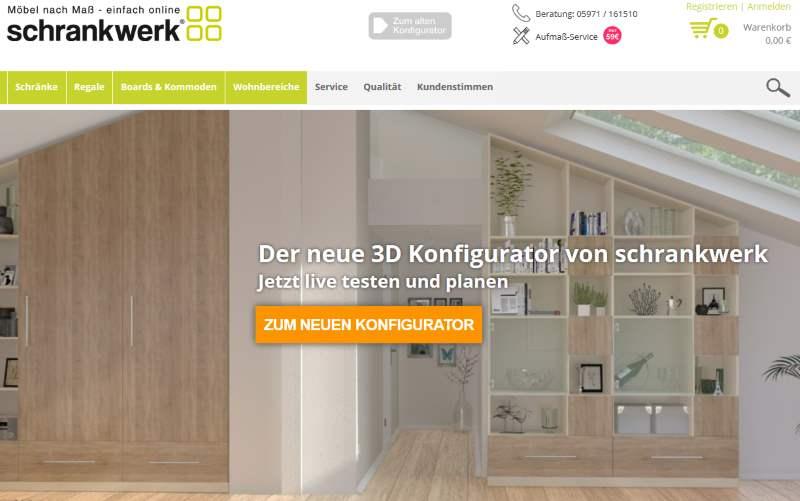 Möbelhaus Schrankwerk