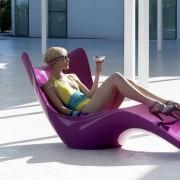 Sonnenliege Surf Liegestuhl von VONDOM