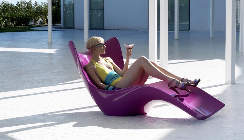 Vondom surf liegestuhl design m bel for Design liegestuhl