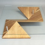 Origami Coffee Tabel, Bild Origami