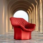 Design Sessel von Poltrona Frau, Bild Poltrona Frau