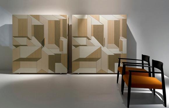 Sideboard mit Intarsien, Bild Porro
