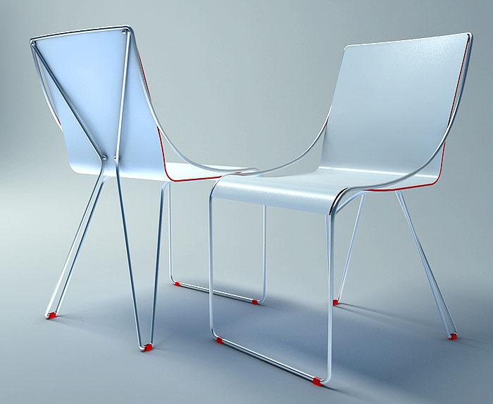 X-one chair von Velichko Velikov, Bild Velichko Velikov
