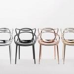 Neue Metalloberflächen für Möbel von Kartell