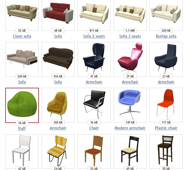 einrichtungsplaner gratissoftware design m bel. Black Bedroom Furniture Sets. Home Design Ideas