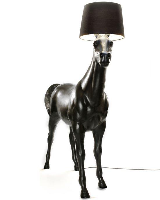 Pferde Stehlampe