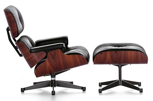 lounge chair und ottoman von charles und ray eames design m bel. Black Bedroom Furniture Sets. Home Design Ideas