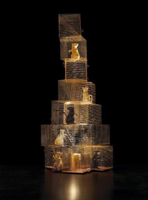 Stehlampe Seven Rats von Ingo Maurer