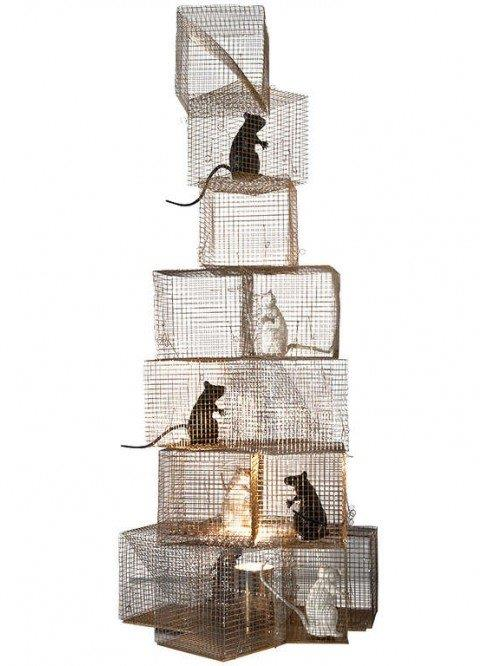 stehlampe seven rats von ingo maurer design m bel. Black Bedroom Furniture Sets. Home Design Ideas