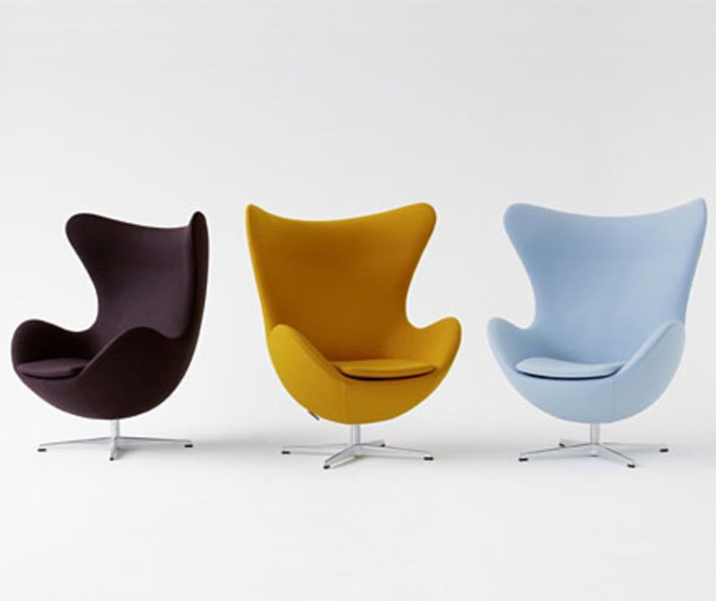 ei sessel von arne jacobsen design m bel. Black Bedroom Furniture Sets. Home Design Ideas