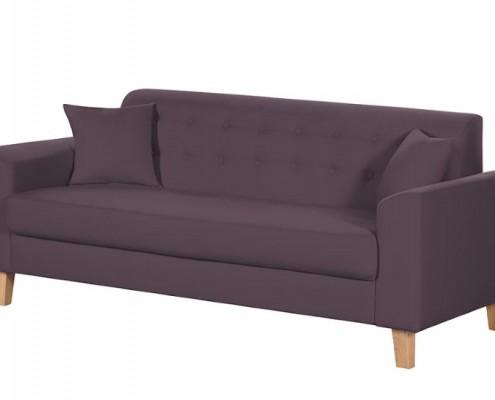 Sofa Linar im skandinavischen Retro Look