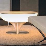 Lounche Tisch 45 LED mit integrierter LED Beleuchtung
