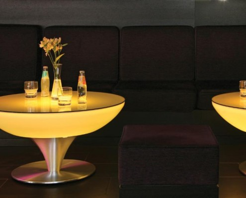 Lounche Tisch 45 LED mit integrierter LED Beleuchtung