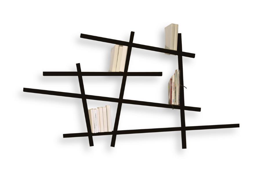 ein b cherregal bringt ordnung design m bel. Black Bedroom Furniture Sets. Home Design Ideas