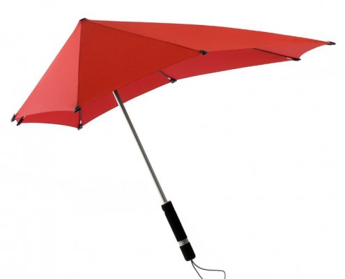 Windschlüpfig und regenabweisend