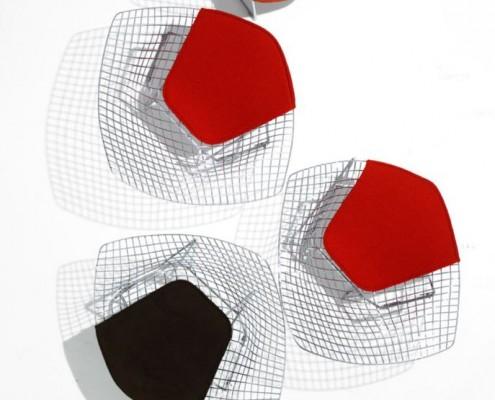 Gefertigt wird der Sessel von Knoll