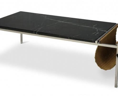 Praktischer Materialmix der Tisch Jim