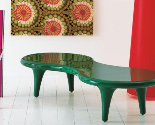 Orgone Table auch als Couchtisch zu verwenden