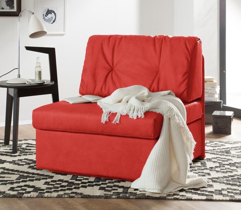 schlafsessel morondo im trendigen rot design m bel. Black Bedroom Furniture Sets. Home Design Ideas