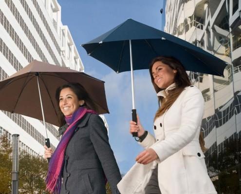 Senz Regenschirm für windige Tage