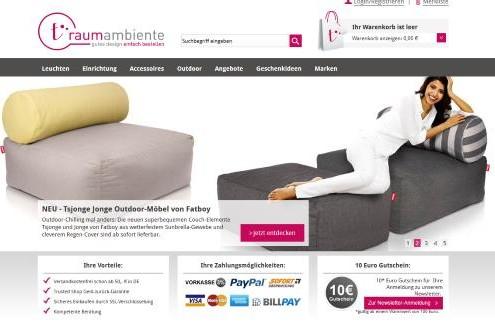Traumambiente online Möbel Shop