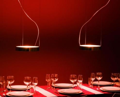 Aluring Lampe, modern mit dem Potential zum Designklassiker