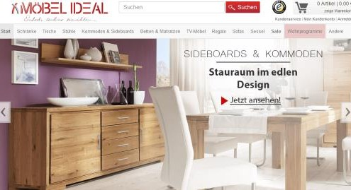 Möbel Ideal online Möbelshop
