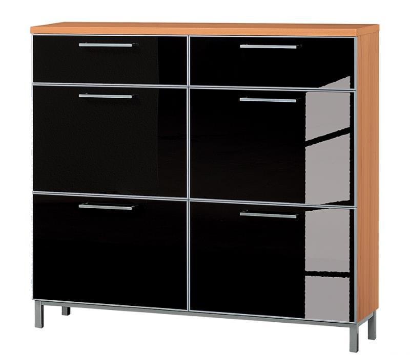 schuhschrank santana 2 design m bel. Black Bedroom Furniture Sets. Home Design Ideas