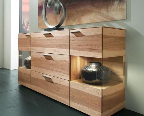 Sideboard aus Pecannussmassivholz